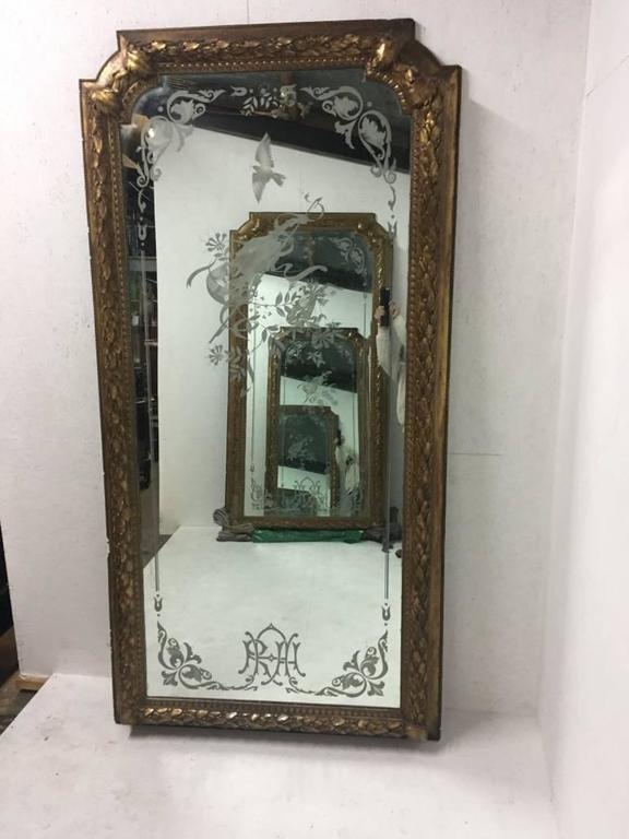 A magnificent pair of 8 6 tall mirrors from the royal for Door 6 royal albert hall