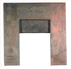 Cast Iron Fireplace Insert by Thomas Jeckyll