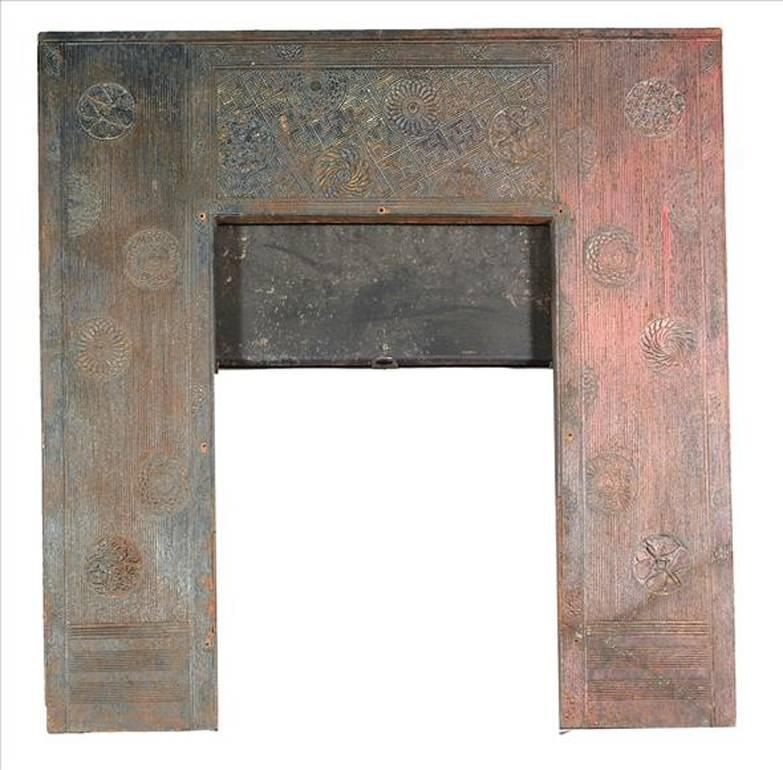 Cast Iron Fireplace Insert by Thomas Jeckyll For Sale at 1stdibs