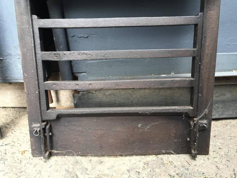 Pair of Anglo-Japanese Cast Iron Fire Inserts by T Jeckyll For Sale 2