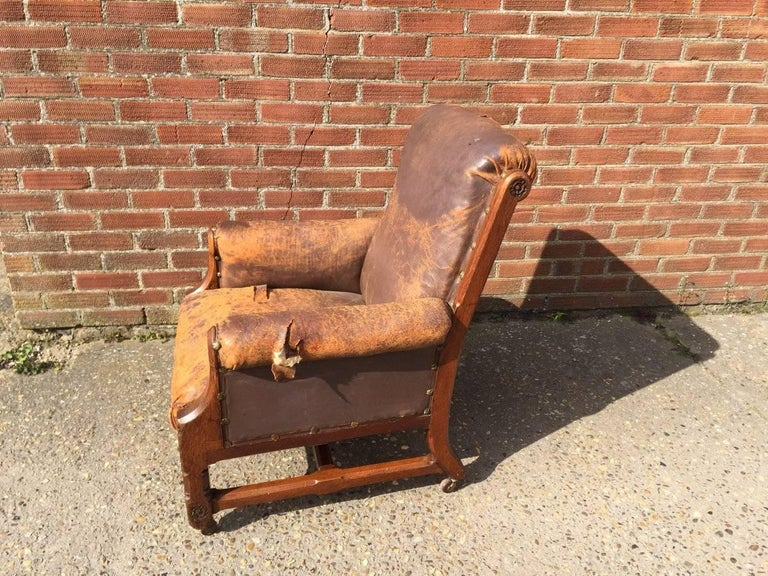 Gothic Revival A W N Pugin, A Rare Oak Armchair Probably Designed for the Speaker's House For Sale