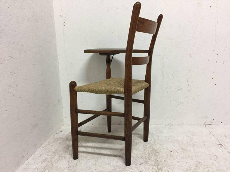 William Birch, Artist's Sketching Armchair with a Shaped Top for Working on In Good Condition For Sale In London, GB