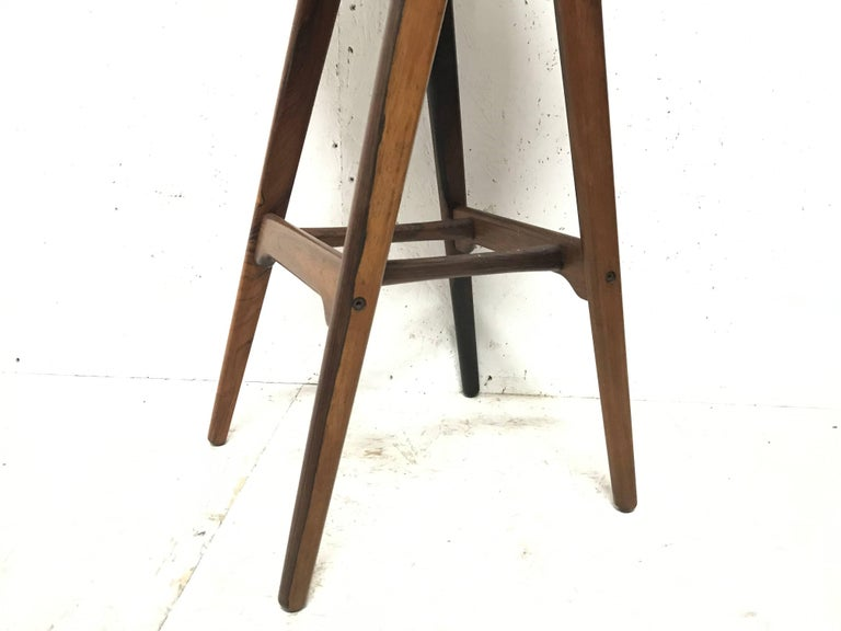 Erik Buck Chr. Christensens Mobelfabrik I/S Vamdrup Design Rosewood Bar Stool For Sale 1