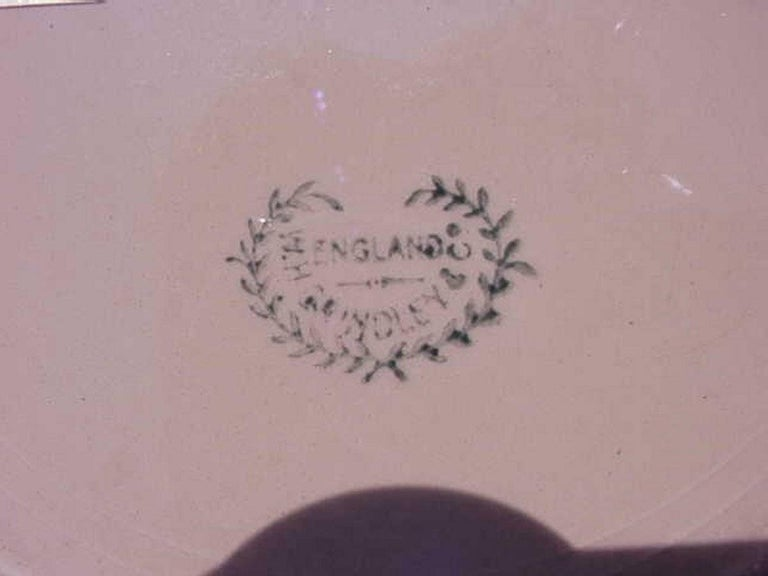 Arts and Crafts Arts & Crafts Hand Painted Decorative Lustre Plate by W H Grindley For Sale