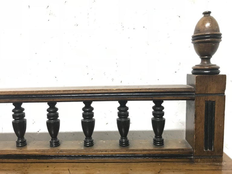 Charles Bevan, Gillows & Co. An Aesthetic Oak Cabinet with Carved Birds & Fish In Good Condition For Sale In London, GB