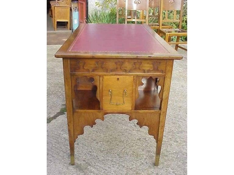 English Edward William Godwin for William Watt, An Anglo-Japanese Walnut Desk. For Sale