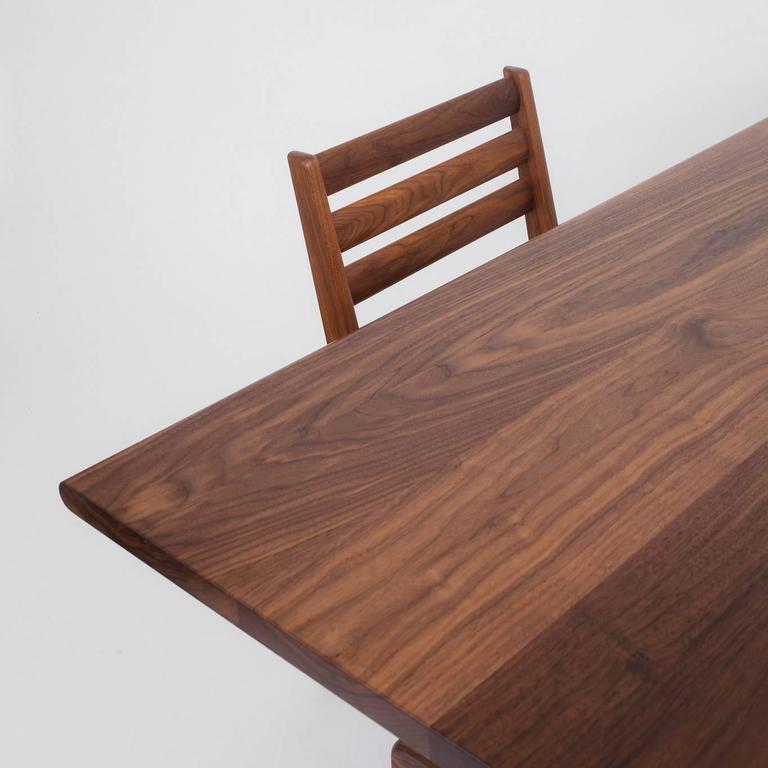 Asa Pingree Physalia Dining Table in American Walnut 6