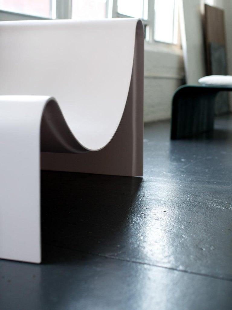 'Knockabout' Fiberglass Lounge Chair, Powder Pink For Sale 1