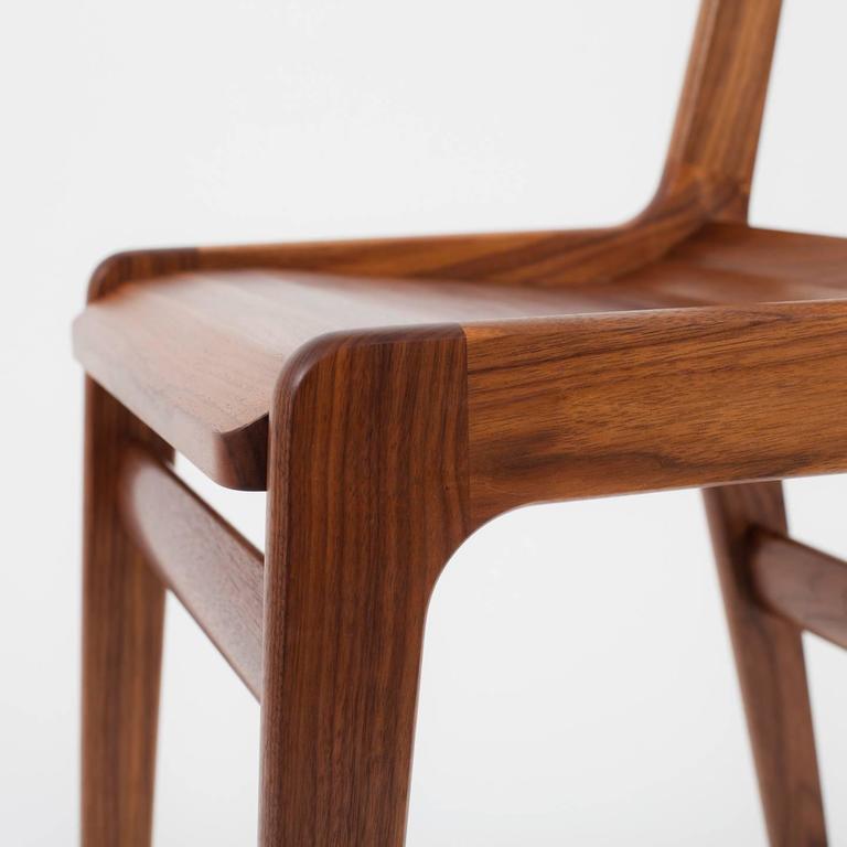 Asa Pingree Fenelon Dining Chair in Ebonized Maple, Walnut, Oak or Fog Gray Ash 7
