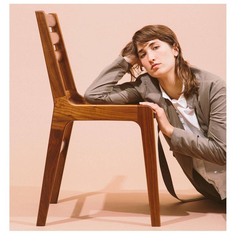 Asa Pingree Fenelon Dining Chair in Ebonized Maple, Walnut, Oak or Fog Gray Ash 8