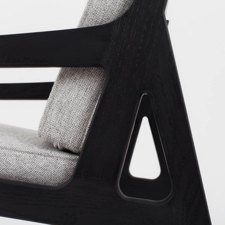 Asa Pingree Pilar Lounge Chair in Fog Gray Ash 6