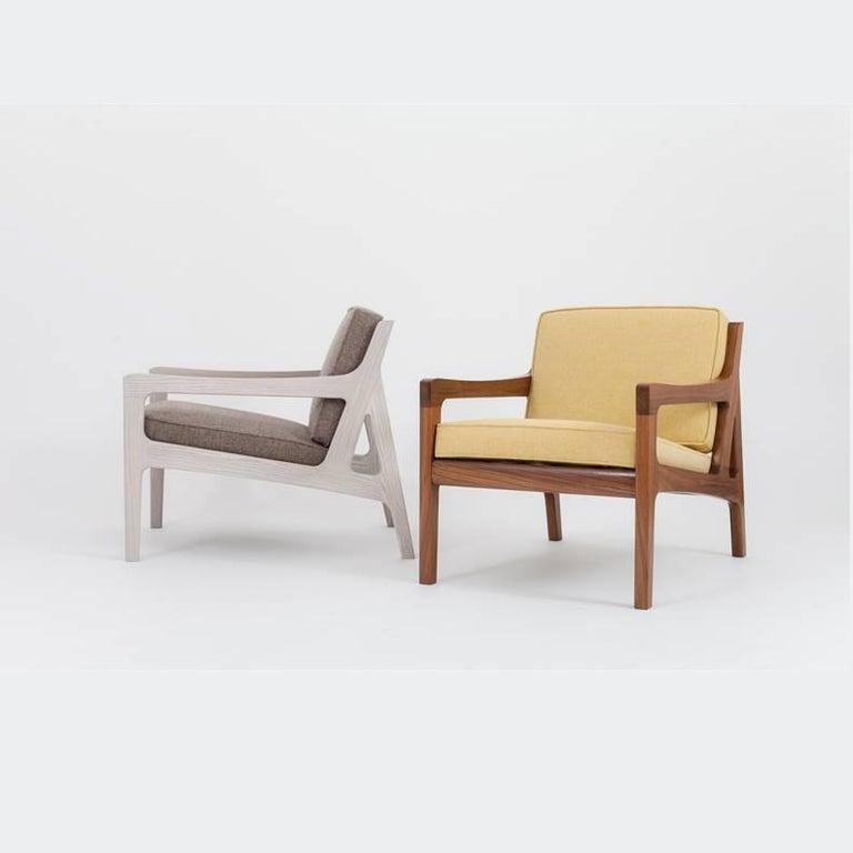 Asa Pingree Pilar Lounge Chair in Fog Gray Ash 3