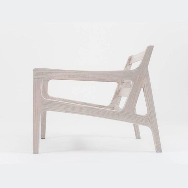 Asa Pingree Pilar Lounge Chair in Fog Gray Ash 2