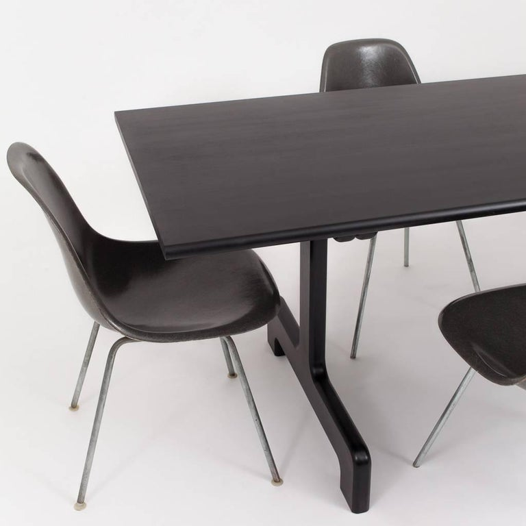 Asa Pingree Physalia Dining Table in Ebonized Maple For Sale 3