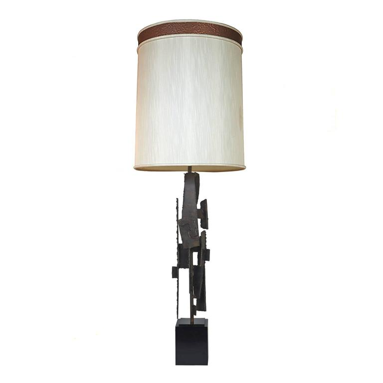 Harry Balmer Brutalist L& for Laurel L& Company For Sale  sc 1 st  1stDibs & Harry Balmer Brutalist Lamp for Laurel Lamp Company at 1stdibs