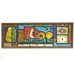Evelyn Ackerman Mosaic Tile Wall Hanging