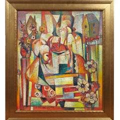 WPA Painter, John Law Walker, Oil on Canvas