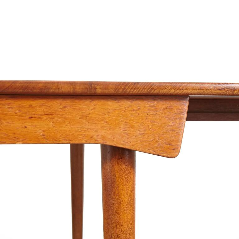 Baker Furniture Tucson: Finn Juhl Model FD 540 Solid Teak Dining Table By France