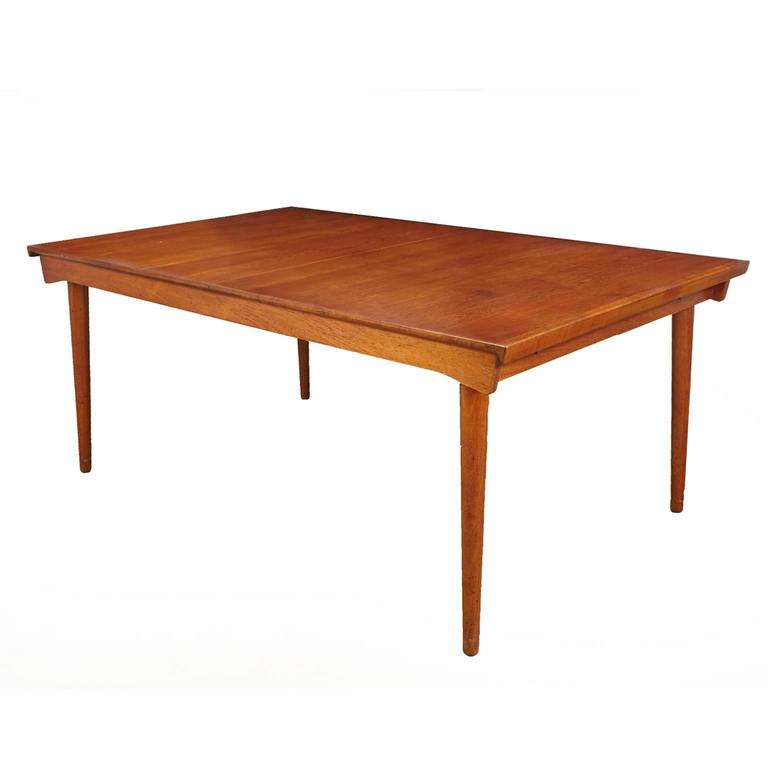 Finn Juhl Model FD 540 Solid Teak Dining Table by France & Son For Sale
