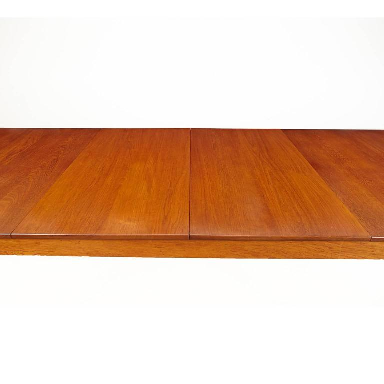 Finn Juhl Model FD 540 Solid Teak Dining Table by France & Son For Sale 3