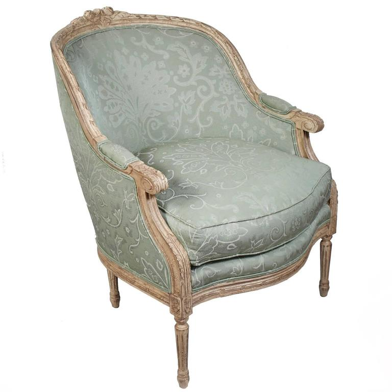 French Provincial Pair of Harden French Carved Armchairs For Sale