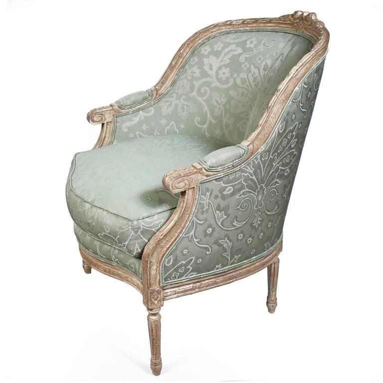 Contemporary Pair of Harden French Carved Armchairs For Sale