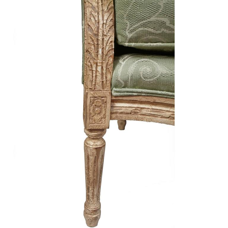 Pair of Harden French Carved Armchairs For Sale 3