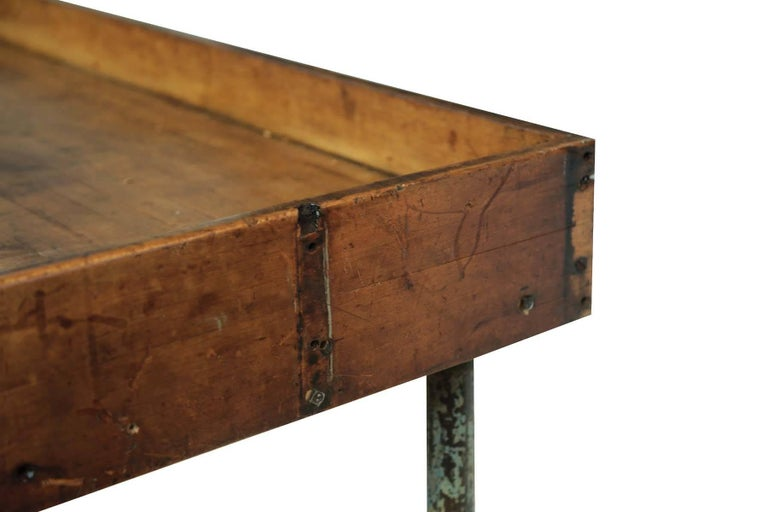 Antique Postal Sorting Table Or Desk At 1stdibs
