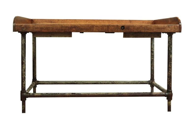 Antique Postal Sorting Table Or Desk At 1stdibs
