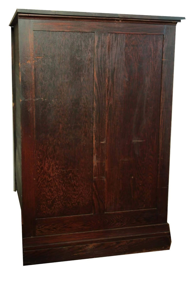 Antique Map Chest or Art Cabinet For Sale 5 - Antique Map Chest Or Art Cabinet At 1stdibs