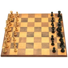 Antique Chess Board