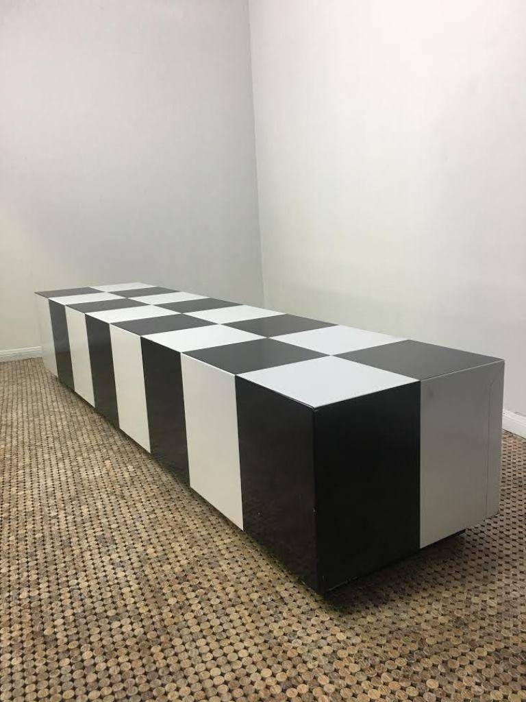 Merveilleux Milo Baughman Rectangular Checkerboard Coffee Table At 1stdibs