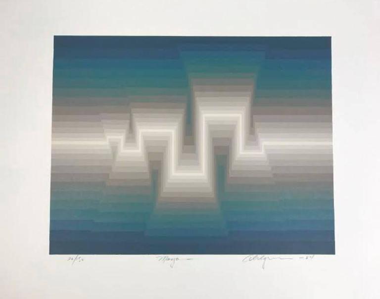 Modern Roy Ahlgren Silk Screen Print