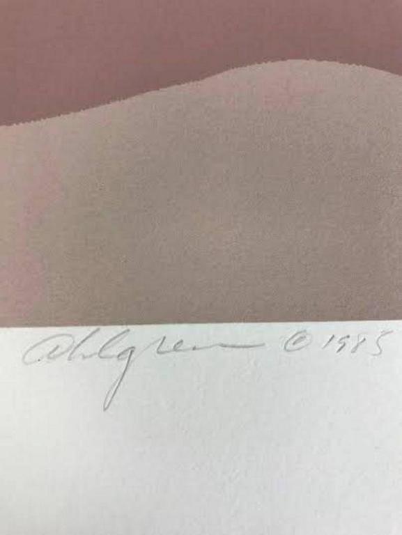 20th Century Roy Ahlgren Silk Screen Print
