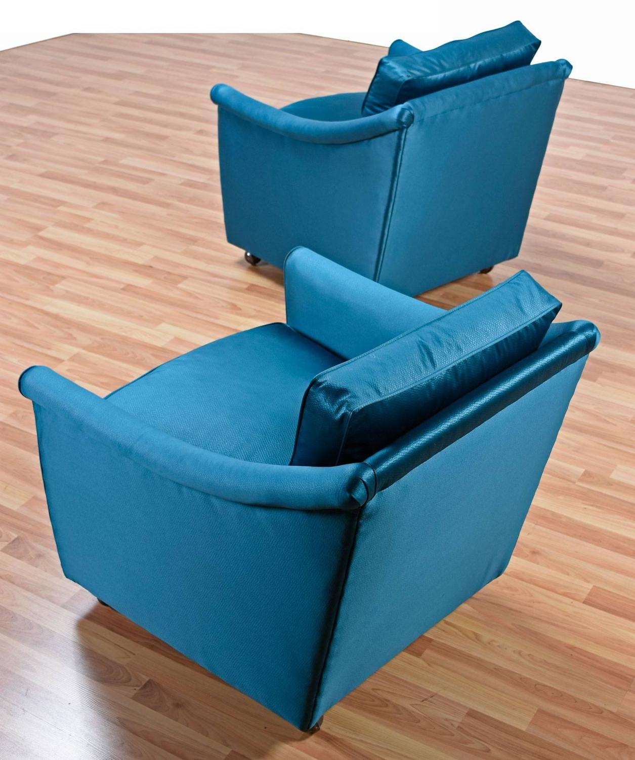 Pair Of 1960s Restored Henredon Armchairs For Sale At 1stdibs