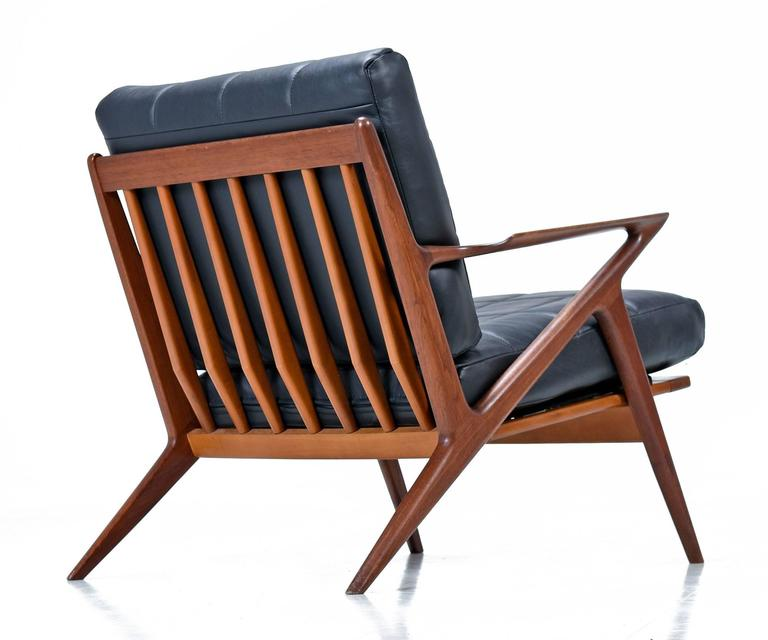 Restored mid century modern z chair at 1stdibs for Z chair mid century