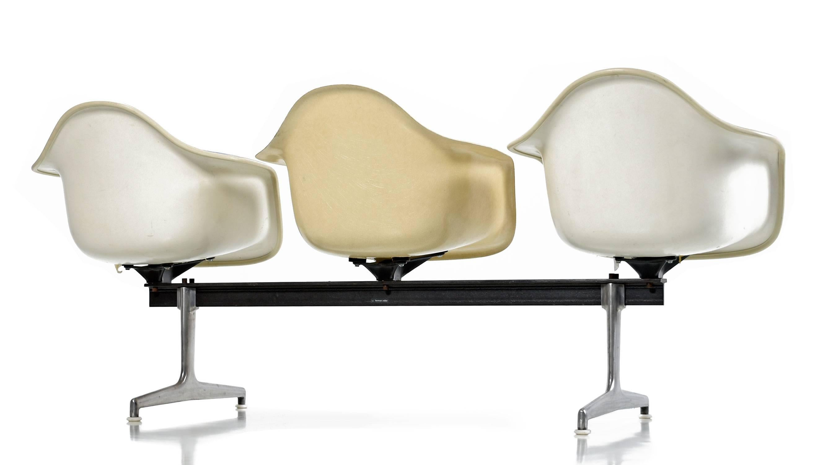 chair eames ottoman and tremendous modern bench lovely home charles lounge most shell reproduct repair for furniture outdoor ideas molded fiberglass herman beautiful with design miller