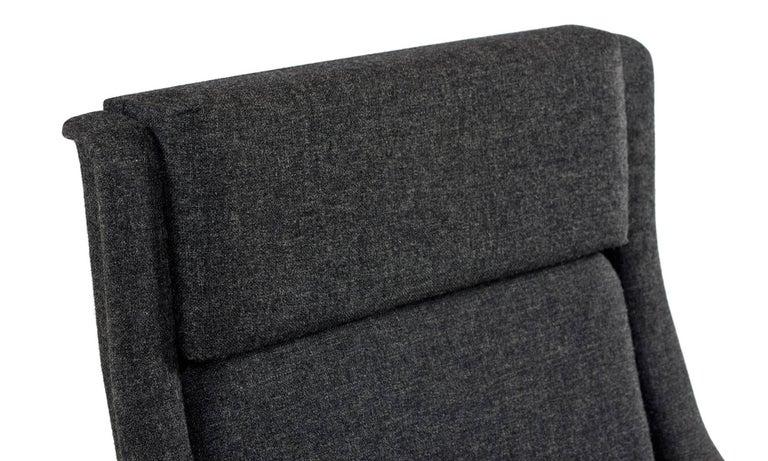 Fabric Original Scandinavian Modern Lounge Chair by Folke Ohlsson & Fritz Hansen For Sale