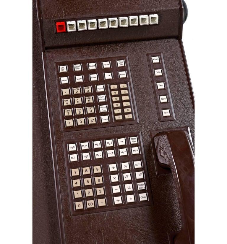 Nos Bynamics Leather Desk Director Phone System Six