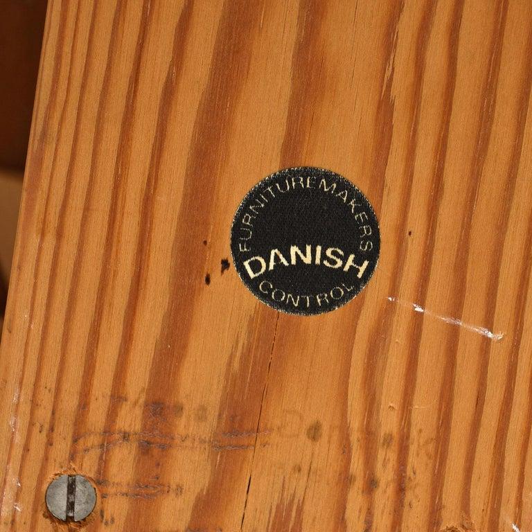 Ib Kofod Larsen Danish Teak Oval Dining Table For Sale 4