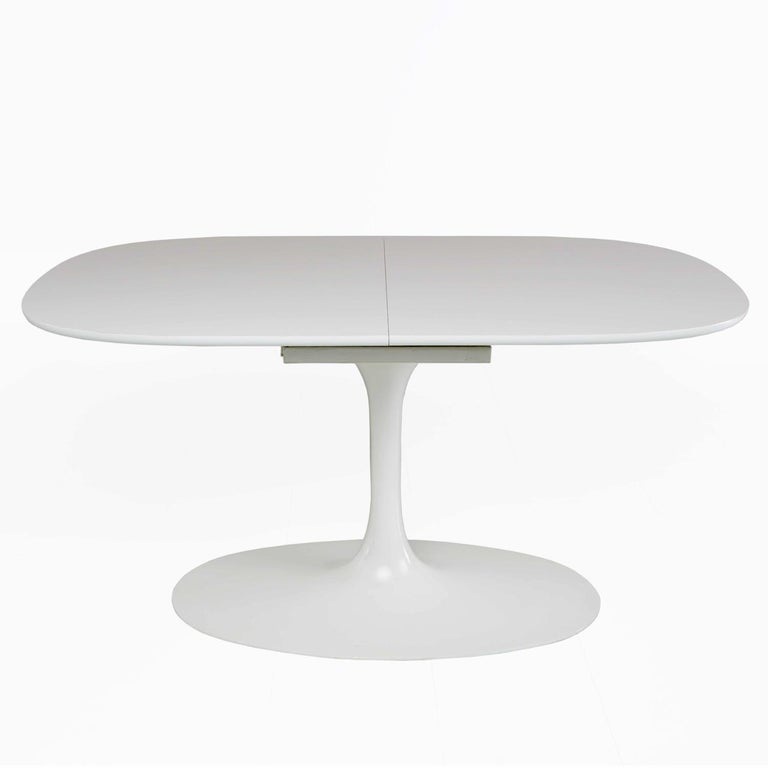 Late 20th Century Saarinen Style Tulip Dining Set By Burke For