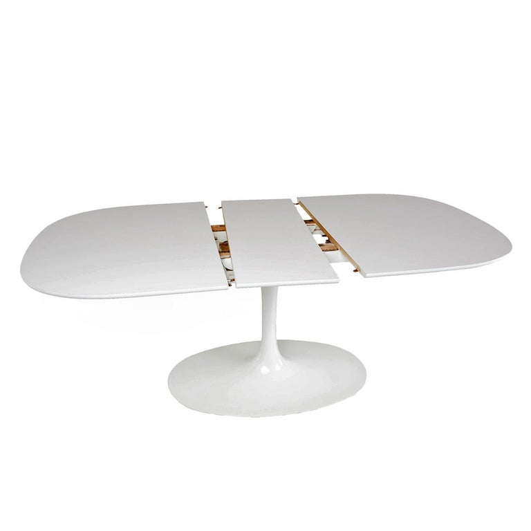 Saarinen Style Tulip Dining Set By Burke For Sale At Stdibs - Extendable tulip table