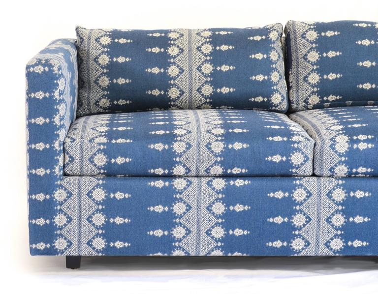 1960s Sofa, Attributed To Craig Ellwood As A Custom Design, Newly  Upholstered In Peter
