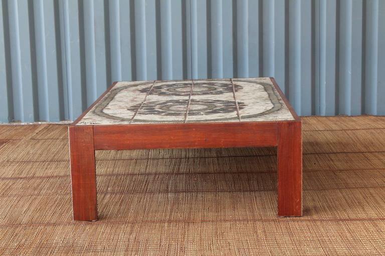 Danish Modern Coffee Table For Sale 2