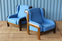 Pair of Armchairs by Sillas Guilleumas, Spain, 1970s.