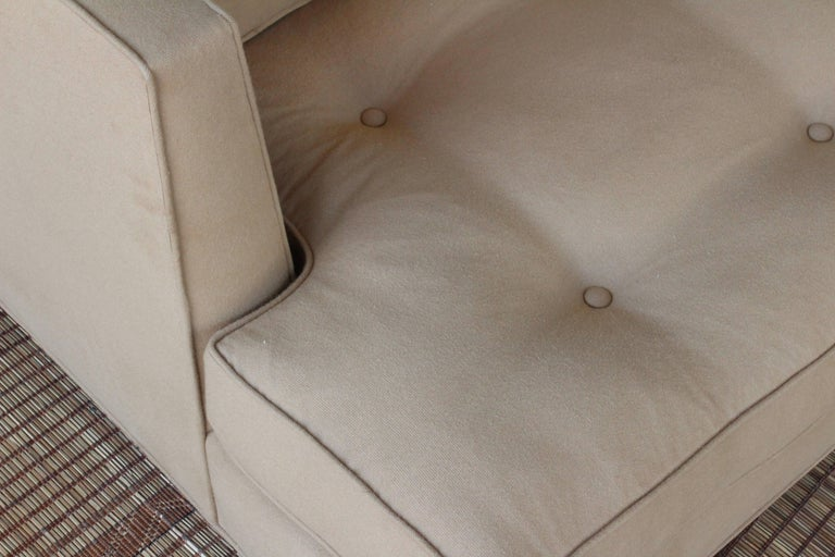 American 1950s Modern Sofa in the Manner of Edward Wormley For Sale