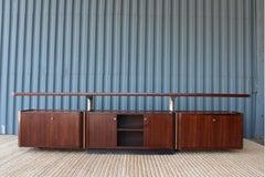 Rosewood Cabinet by Osvaldo Borsani For Tecno, Italy, 1960s.