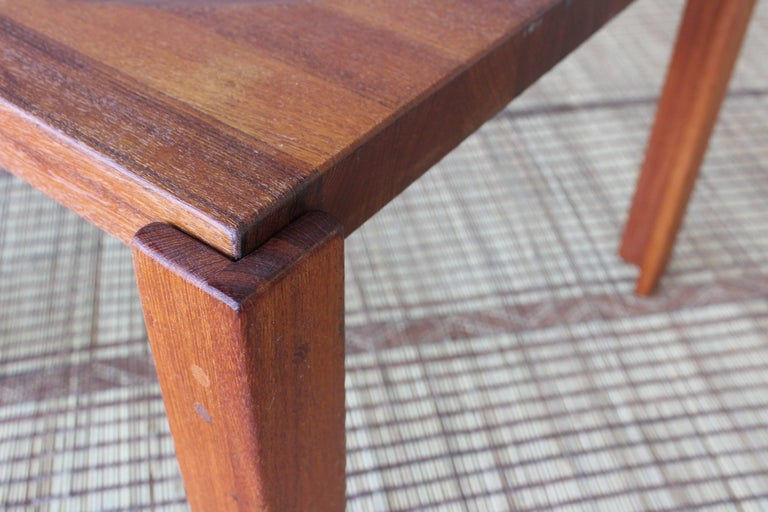 Danish Modern Teak Tray Table by Jens Quistgaard In Good Condition For Sale In Los Angeles, CA