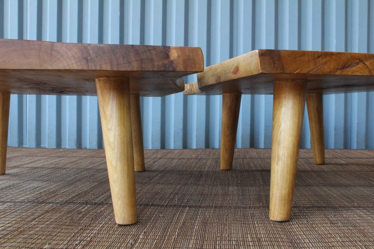 Live Edge Camphor Wood Coffee Tables For Sale 3