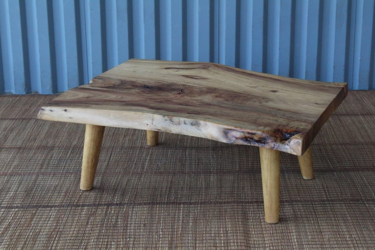 Live Edge Camphor Wood Coffee Tables For Sale 5